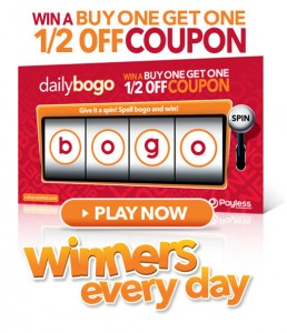 Payless ShoeSource: Daily BOGO Game